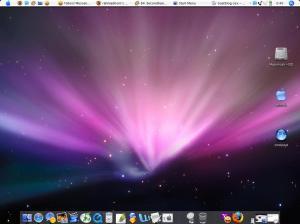 sekilas mirip abiiieess sama mac OS X